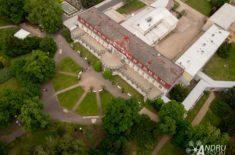 Foto z dronu Lázně Bohdaneč