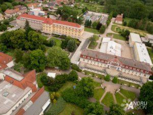 Bohdaneč letecké snímky české republiky