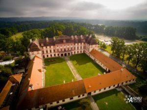 letecké fotografie zamek-ohrada-andruvision