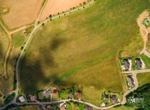 foto pozemků z výšky