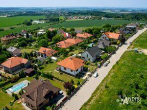 letecké fotografie obcí