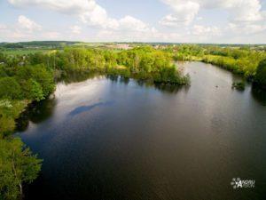 Sprava vodních toků - letecké snímky Praha