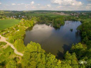 focení dronem v Praze
