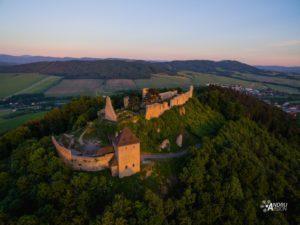 letecké snímky hrad starý jičín - AndruVision
