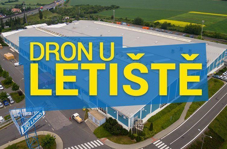 dron u letiště